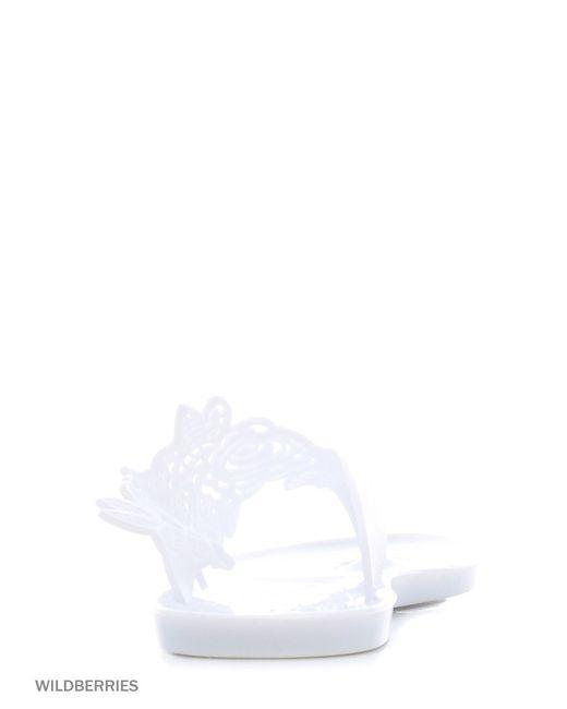 Шлепанцы Алми                                                                                                              белый цвет