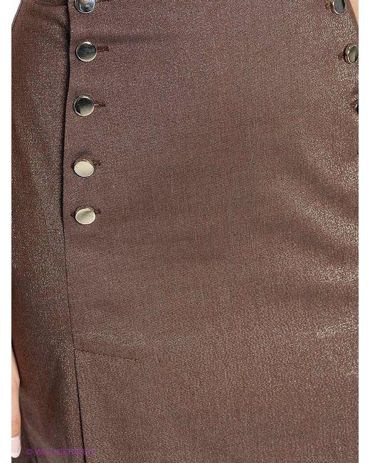 Юбки Xarizmas                                                                                                              коричневый цвет