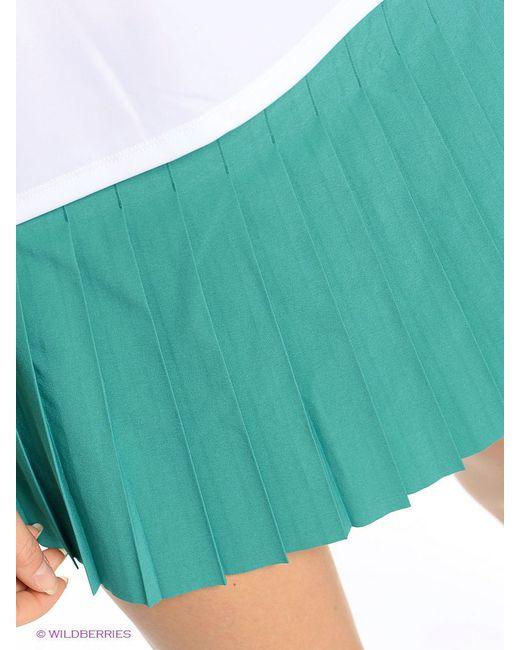 Юбки Nike                                                                                                              зелёный цвет