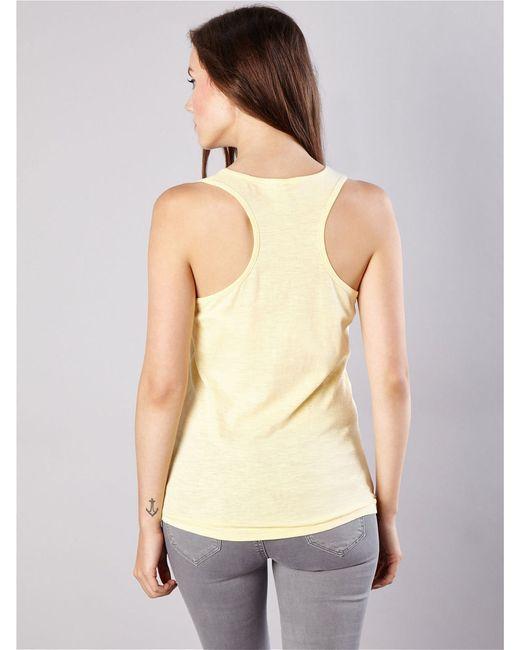 Майка Sinsay                                                                                                              желтый цвет