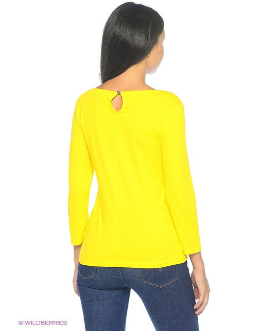 Лонгслив Mohito                                                                                                              желтый цвет