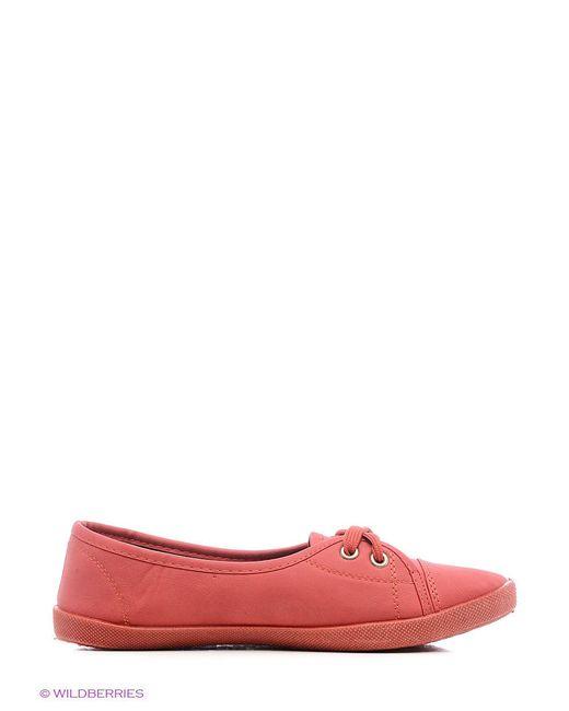 Кеды BRIS                                                                                                              красный цвет