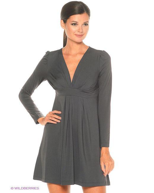 Платье RUXARA                                                                                                              серый цвет