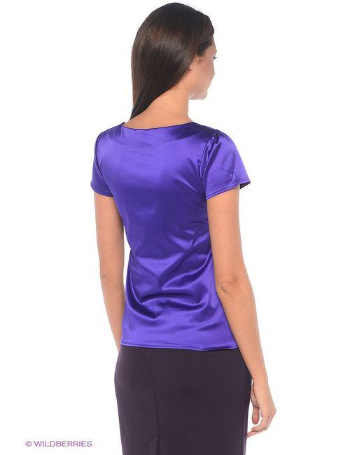 Блузка Фэст                                                                                                              фиолетовый цвет