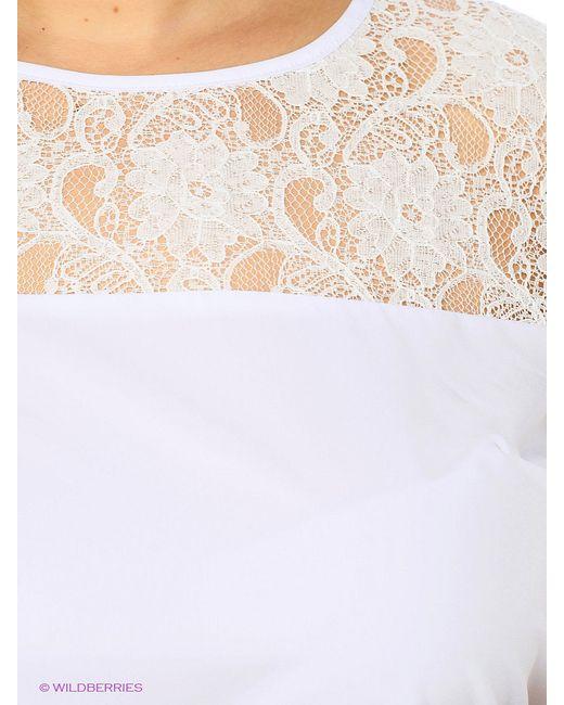 Блузка Фэст                                                                                                              белый цвет