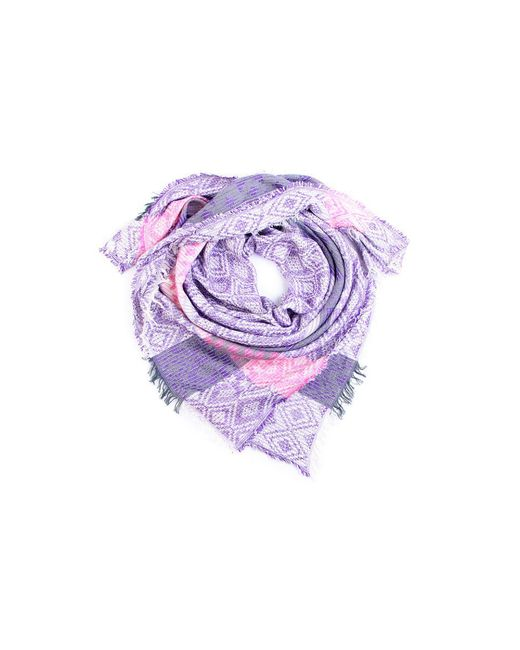 Платок Двухсторонний ГАНГ                                                                                                              фиолетовый цвет