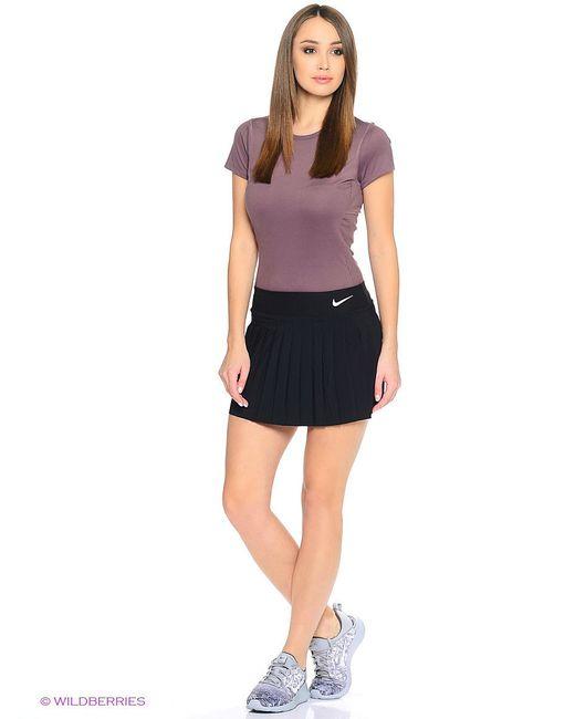 Юбка Victory Skirt Nike                                                                                                              серый цвет