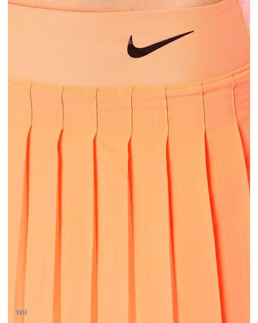 Юбка Victory Skirt Nike                                                                                                              оранжевый цвет