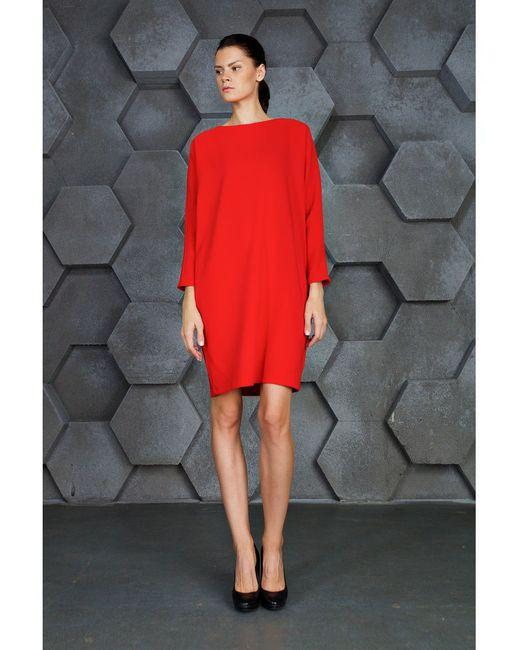 Платье IQdress                                                                                                              красный цвет