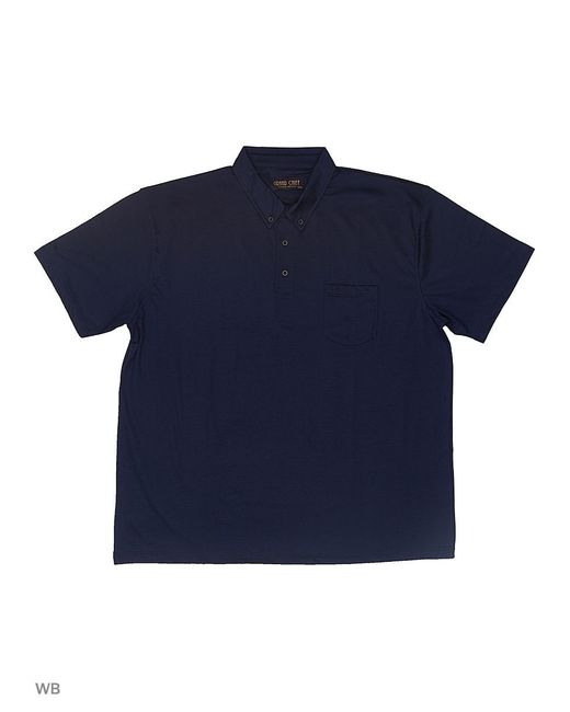 Футболка-Поло GRAND CHIEF                                                                                                              синий цвет