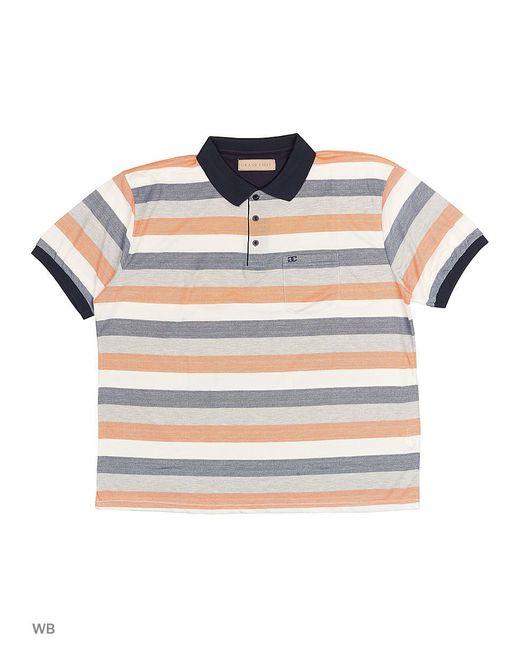 Футболка-Поло GRAND CHIEF                                                                                                              оранжевый цвет