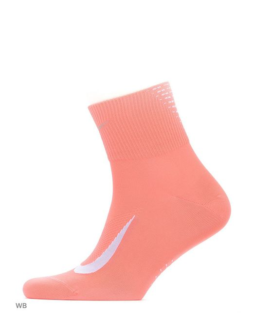 Носки U Nk Elt Ltwt Qt Nike                                                                                                              красный цвет