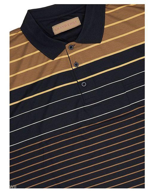 Футболка-Поло GRAND CHIEF                                                                                                              чёрный цвет