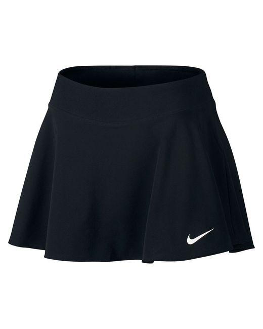 Юбка W Nkct Flx Pure Skirt Flouncy Nike                                                                                                              чёрный цвет