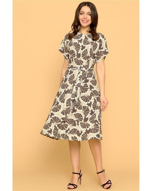 Платье MARI VERA                                                                                                              бежевый цвет