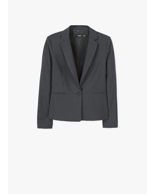 Пиджак Boreal1 Mango                                                                                                              серый цвет
