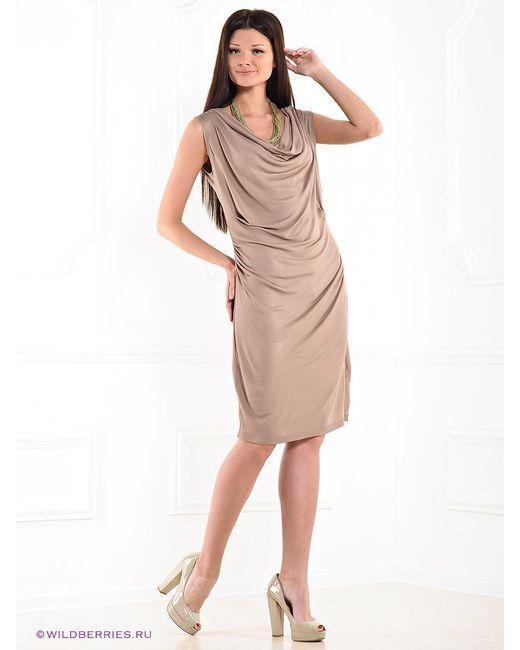 Платья Compagnia Italiana                                                                                                              бежевый цвет