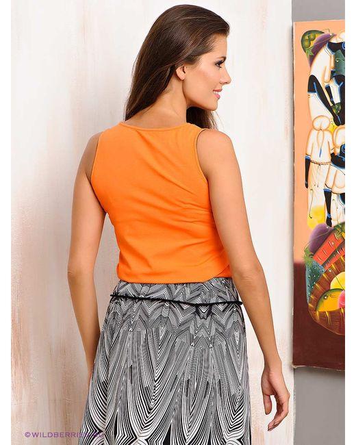 Топы Natali Silhouette                                                                                                              оранжевый цвет