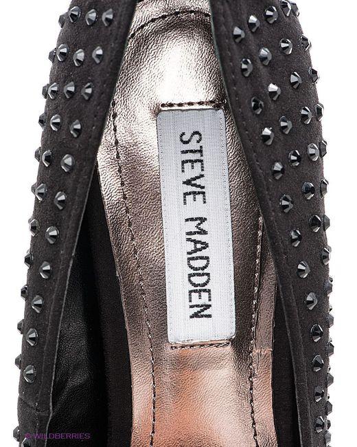 Туфли STEVE MADDEN                                                                                                              чёрный цвет