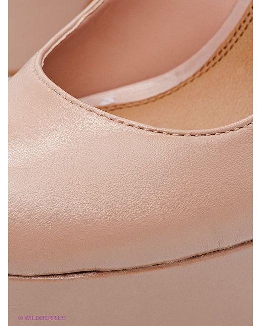 Туфли STEVE MADDEN                                                                                                              бежевый цвет