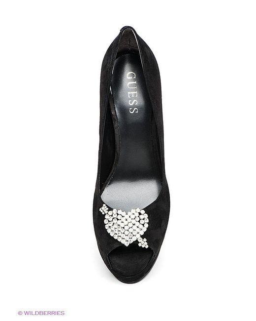 Туфли Guess                                                                                                              чёрный цвет