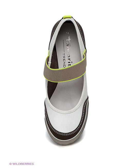 Туфли Tamaris                                                                                                              белый цвет