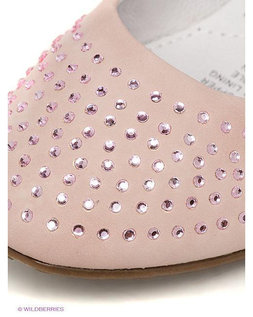 Балетки Keddo                                                                                                              розовый цвет