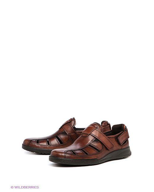 Сандалии Ecco                                                                                                              коричневый цвет