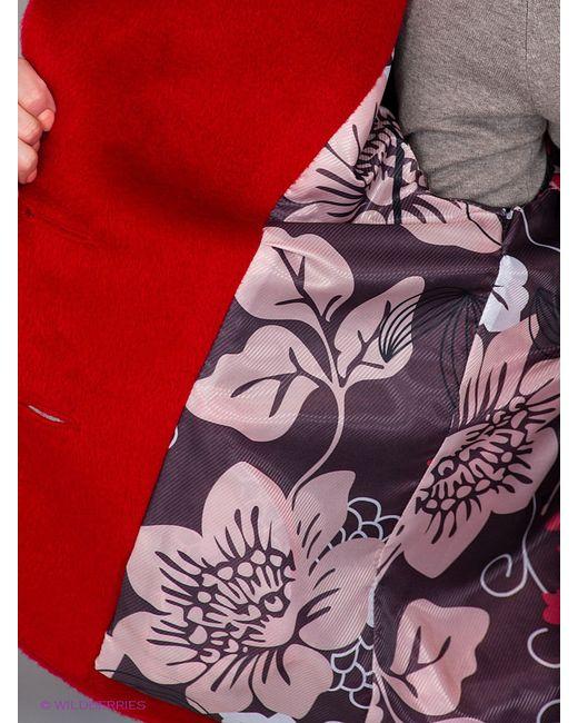 Пальто Klimini                                                                                                              красный цвет
