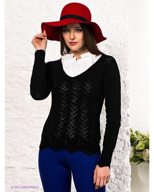 Джемперы Laura V.                                                                                                              чёрный цвет