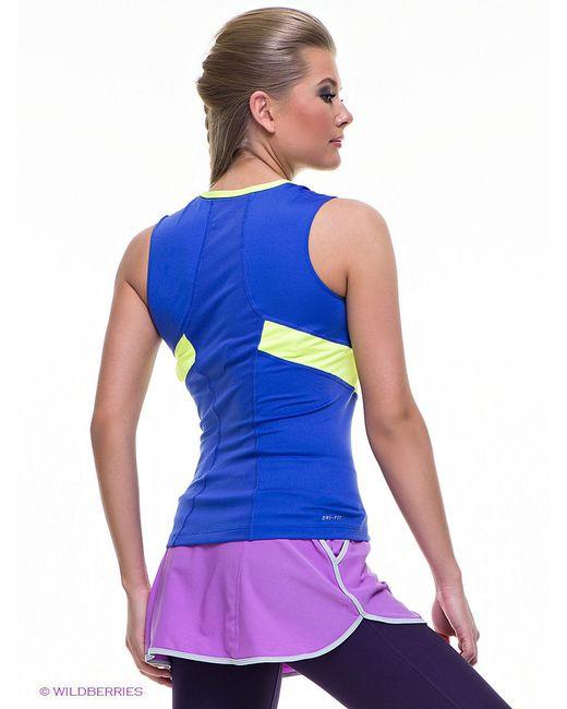 Топы Nike                                                                                                              синий цвет