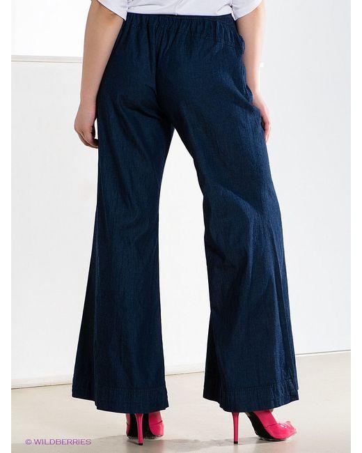 Брюки Mat Fashion                                                                                                              синий цвет