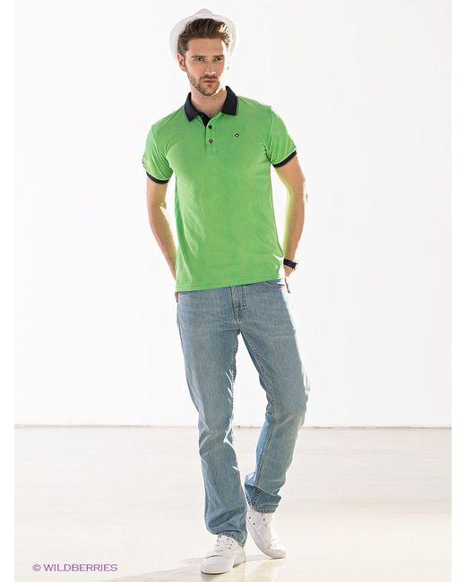 Поло Marville                                                                                                              зелёный цвет