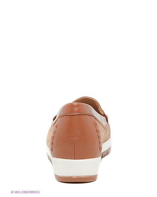 Мокасины Soledo                                                                                                              коричневый цвет