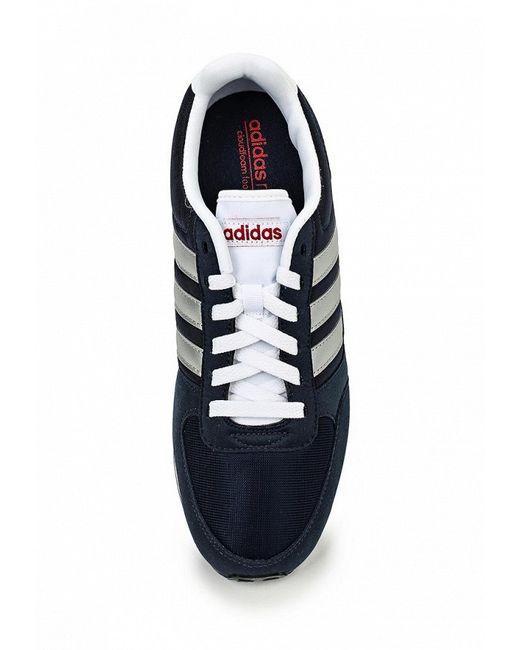 Кроссовки adidas Neo                                                                                                              синий цвет