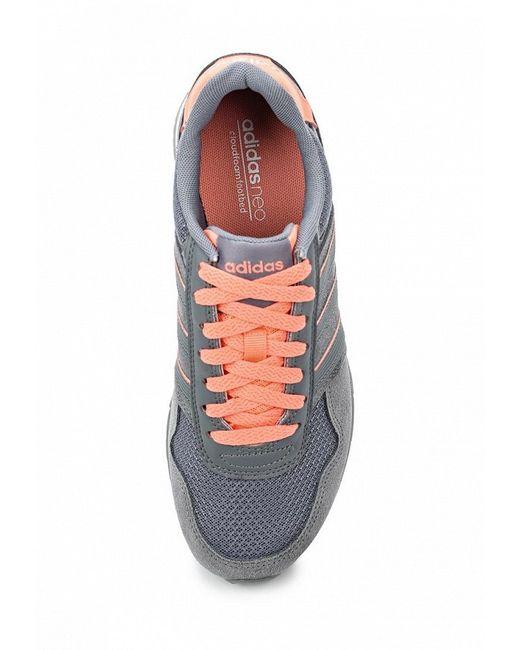 Кроссовки adidas Neo                                                                                                              серый цвет