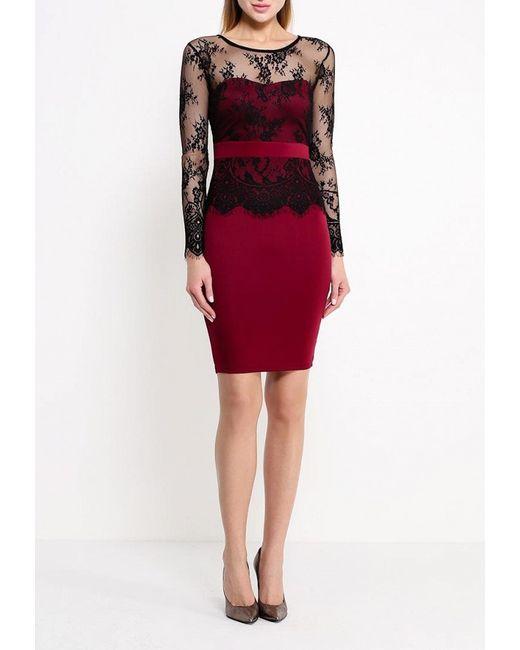 Платье Ad Lib                                                                                                              красный цвет