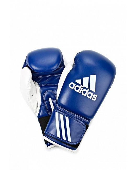 Перчатки Боксерские adidas Combat                                                                                                              синий цвет
