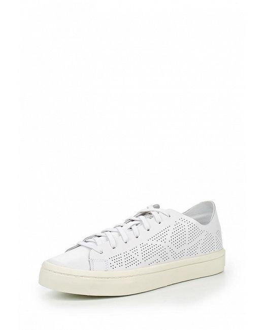 Кеды adidas Originals                                                                                                              белый цвет