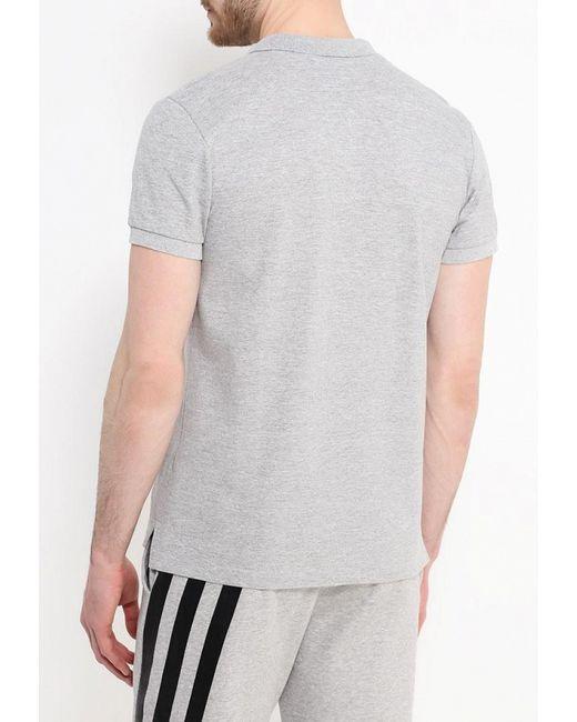 Поло adidas Originals                                                                                                              серый цвет