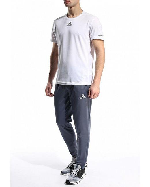 Брюки Спортивные adidas Performance                                                                                                              серый цвет