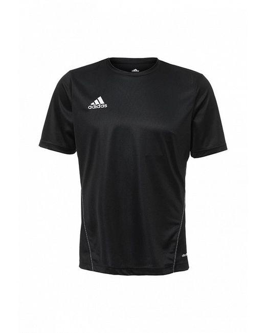 Футболка Спортивная adidas Performance                                                                                                              чёрный цвет