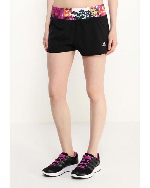 Шорты Спортивные adidas Performance                                                                                                              чёрный цвет