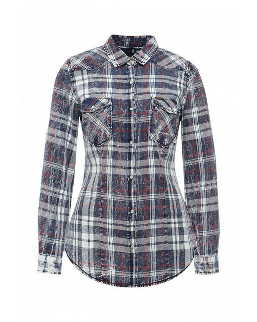 Рубашка Alcott                                                                                                              синий цвет