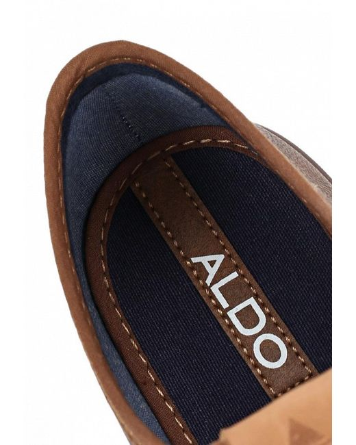 Кеды Aldo                                                                                                              коричневый цвет