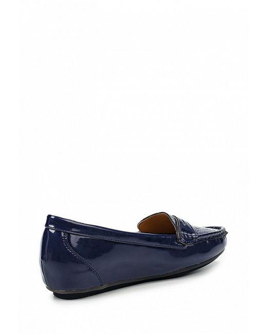 Туфли ANNA LISA                                                                                                              синий цвет