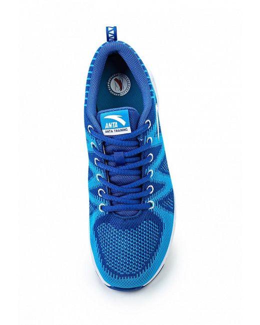 Кроссовки Anta                                                                                                              синий цвет