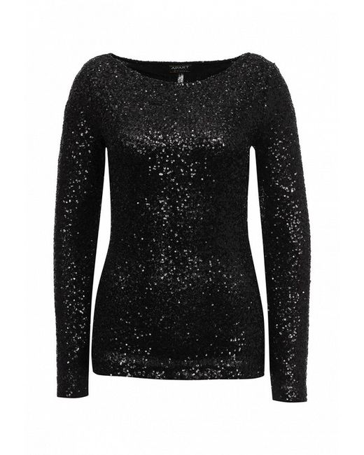 Блуза Apart                                                                                                              чёрный цвет