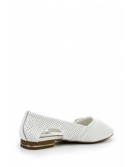 Туфли Ascalini                                                                                                              белый цвет