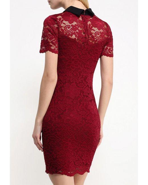 Платье Aurora Firenze                                                                                                              красный цвет